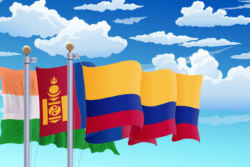 State-level crypto adoption for India, Mongolia, and Colombia