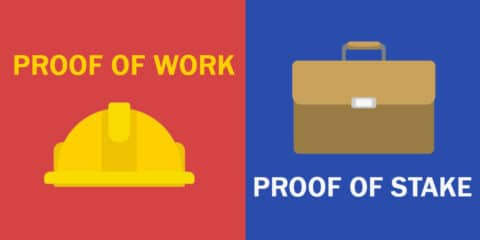 Proof of stake or proof of work