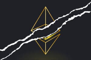 software issue on Geth resulted in a network fork in the Ethereum blockchain