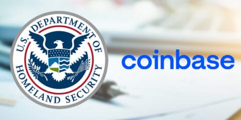Coinbase signs a $1.36M contract with the US Dep't of Homeland Security